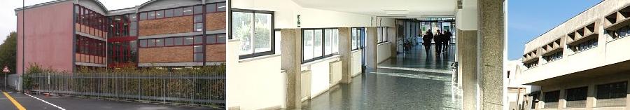 Alcune immagini dell'istituto tecnico industriale Carlo Zuccante di Mestre