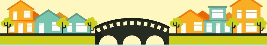 un ponte in città grafica di freepik.com