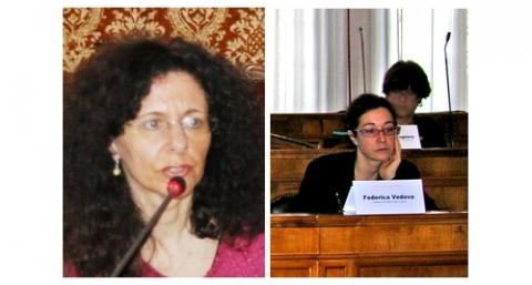 Le consigliere a fine mandato: Annalisa Vegna e Federica Vedova