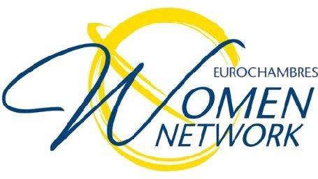 Logo di Eurochambres Women Network, associazione europea di camere di commercio imprese femminili