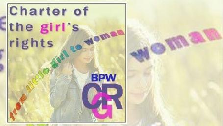 Logo Charter of girl's rights - Carta dei diritti della bambina