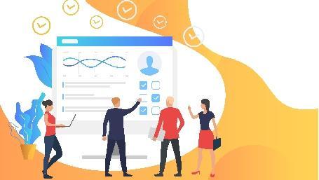 gruppo di persone rispondono a indagine statistica (da freepik.com)