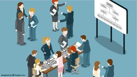 nuove misure organizzative di lavoro (illustrazione by freepik.com)