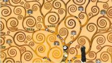 particolare dell'opera Albero della vita di G. Klimt