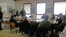 Un momento dell'incontro a Chioggia l'8 marzo 2018