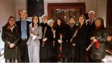 gruppo di associate della Fondazione Bellisario Venezia all'incontro del 28 novembre