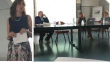 """due momenti della giornata del corso """"Modelli organizzativi innovativi nelle aziende"""""""