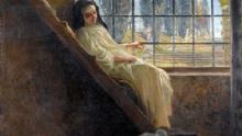 """In copertina del libro """"Le sepolte vive"""", monaca alla finestra"""