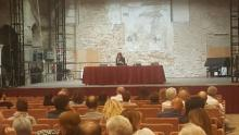 Un momento dell'incontro a Chioggia il 10 maggio 2018