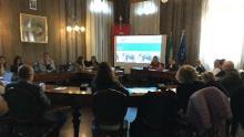 un momento dell'assemblea plenaria del progetto Alleanza per le Famiglie Riviera del Brenta