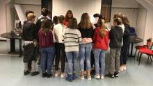 un momento dell'incontro tra studenti e Consigliera di parità
