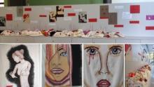l'installazione artistica della classe 4L del Musatti di Dolo