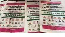 i sacchetti di pane dell'iniziativa